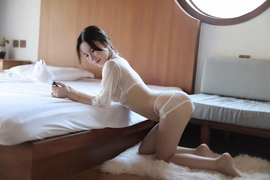 시스루 레이스 섹시 란제리