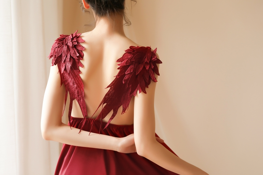 날개 달린 천사 슬립