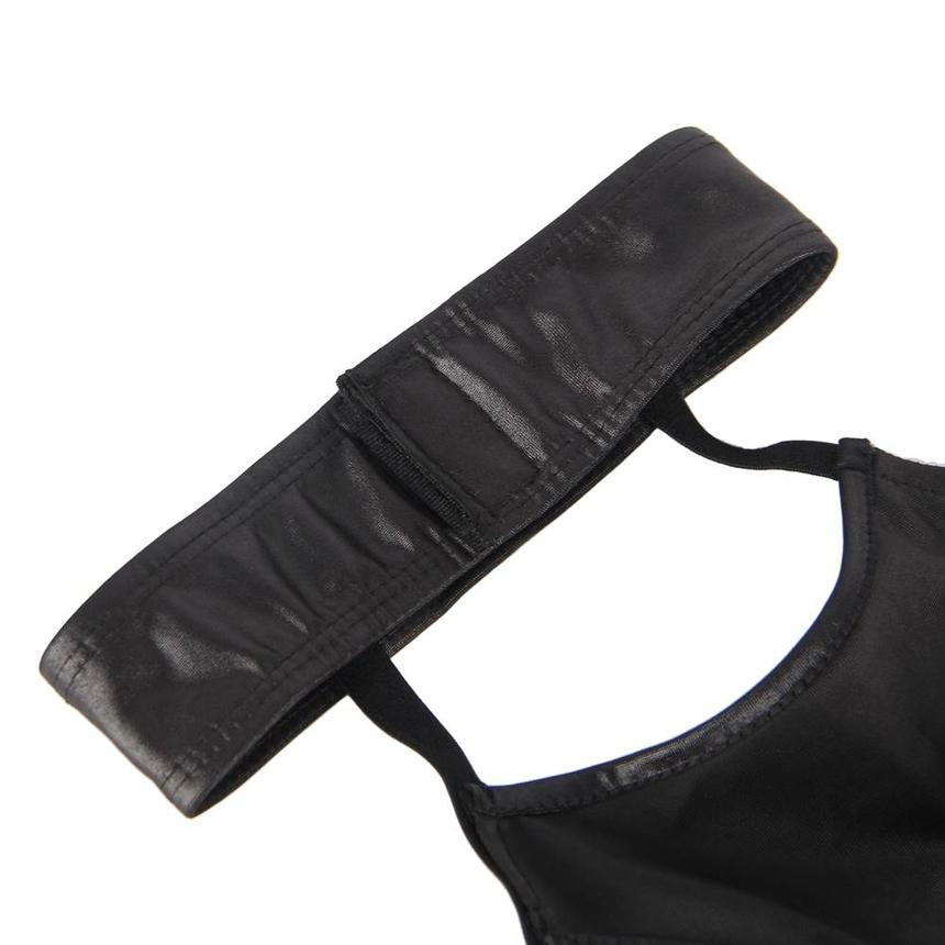 빅 사이즈 블랙 초커 브라 세트 XL